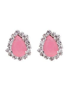 pink bling studs #girly #style For guide + advice on lifestyle, visit www.thatdiary.com