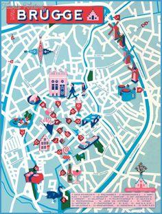 bruges map httptravelsfinderscombruges maphtml