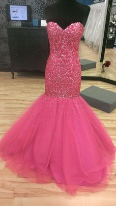 Real Picture Mermaid Prom Long Dresses 2016 Full Crystal Corset Sweetheart Beaded Tulle Dress For Women Customized Abendkleider Cute Cheap Prom Dresses Dave And Johnny Prom Dresses From Adminonline, $183.97  Dhgate.Com