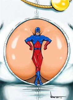 Power Girl & Atom by Nick Damon. Dc Comics Superheroes, Comics Girls, Mr Marvel, Atomic Kitten, Comic Art, Comic Books, Brave And The Bold, Geek Games, Stuff And Thangs