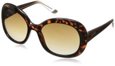 Óculos Juicy Couture womens JU563S Round Sunglasses,Dark Havana,55 mm #Óculos #Juicy Couture