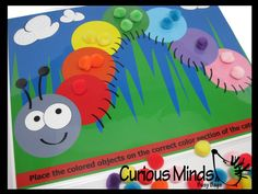 PDF DOWNLOAD - You Pring- Color Sort Caterpillar Activity Page