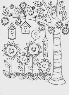 El taller de Andrea: Dibujos para bordar