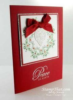 Daydream Medallion Christmas Card