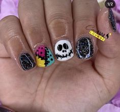 Manicure Ideas, Gel Manicure, Mani Pedi, Nail Ideas, Trendy Nails, Cute Nails, Halloween Nail Art, Pedicures, Cosmetology