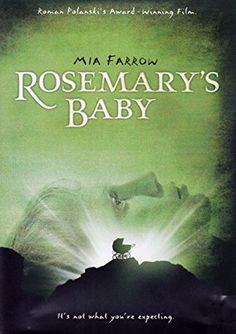 Directed by Roman Polanski. With Mia Farrow, John Cassavetes, Ruth Gordon, Sidney Blackmer. A young couple trying for a baby move into a fancy apartment surrounded by peculiar neighbors. Halloween Movies, Scary Movies, Old Movies, Great Movies, Awesome Movies, Vintage Movies, Baby Halloween, Mia Farrow, Roman Polanski