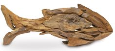 Driftwood Fish Large: Coastal Home Decor, Nautical Decor, Tropical Island Decor & Beach Furnishings $179.00
