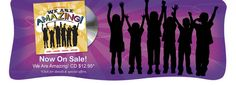 """""""We Are Amazing"""" is the funnest CD for kids EVER! These powerful songs will instill in kids of all ages the courage, confidence and strength to care about others, dream big and find hope in times of personal challenge."""