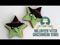 Scream gingerbread men cookies for Halloween - YouTube
