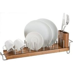 I Like This Wooden Drying Rack Kitchen Dishes Pantry Storage