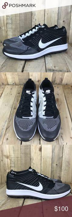 hot sale online 37b0e daf8e Nike Flyknit Racer Golf Mens Size 11.5 Mens Nike Flyknit Racer G Golf Shoes  Size 11.5