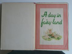 My favourite childhood book. Many fond memories of my dear Nanna reading this to me. It was our special book :) Fairy Land, Landing, Ann, Childhood, Memories, My Favorite Things, Books, Memoirs, Infancy