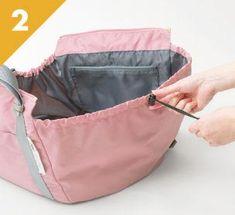 使い方は簡単、がばっと開いてギュッと絞る! 2