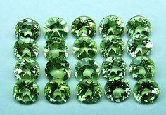 Masterpiece Calibrated 3 mm Round Cut Fine Peridot 100 % Natural Loose (5 Pcs) Gemstone AAA Lot/Parcel per order