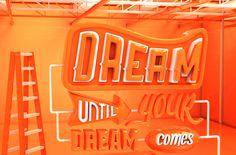 Dream on by Angélica Porfirio, via Behance