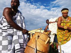Next to music, drums were used as a communication tool for local announcements by Chiefs.