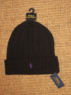 843160410329c Black Beanie Hats for Men