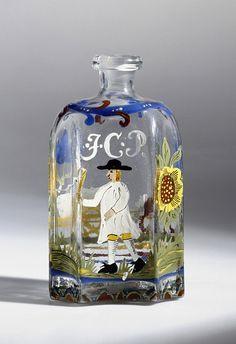 mid 18th century bottle