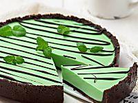 Crostata menta e cioccolato ricetta | Ho Voglia di Dolce