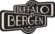 Buffalo & Bergen at Union Market - love the street signs and ampersand/G concept