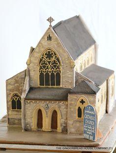 #Herne Bay catholic church in gingerbread