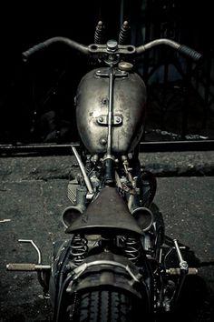 Bobber Inspiration | Bobbers and Custom Motorcycles | thegreyconcept May 2013