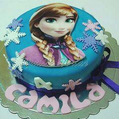 "Fondantcake  ""Anna/Frozen"""