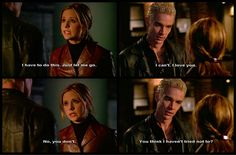 BTVS Spike being adorable and angsty.
