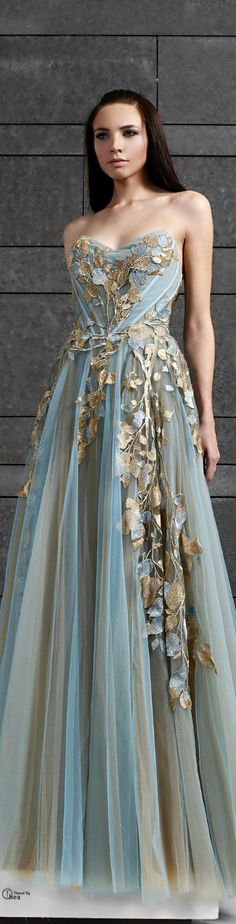 Tony Ward ● FW 2014-15...Not a huge fan of the top, but love the colors.