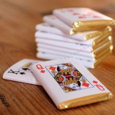 """Les petits chocolats """"jeu de cartes"""""""