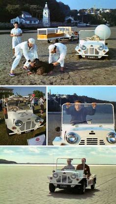Most recently seen in the Opening Ceremonies of London's 2012 Olympic Games, the iconic Mini boasts an impressive resume of memorable TV and film appearances. Sports Wagon, Holiday Hotel, Film Studio, Weird Stories, Great Films, Creative Advertising, Retro Cars, Classic Mini, Sci Fi Fantasy