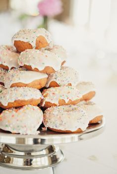 make homemade donuts for wedding