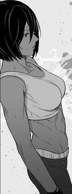 Mikasa Arckerman rocking body
