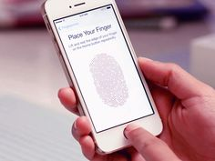 iPhone TouchID 'hacked' by a group of German hackers. See how they unlock iPhone fingerprint sensor. Iphone 5s, Apple Iphone, Smartphone, Iphone Touch, Finger Print Scanner, Ios 8, Gadgets And Gizmos, Computer, Gifts