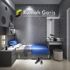 desain kamar anak teen bedroom modern klasik minimalis