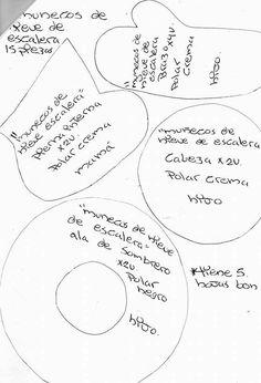 Nieves escalera moldes 1 Primitive Doll Patterns, Blog, Type 3, Ideas Para, Grande, Facebook, Christmas, Christmas Ornaments, Christmas Crafts