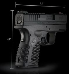 Specs for the XD-S 45mm Compact Pistol | Springfield Armory USA