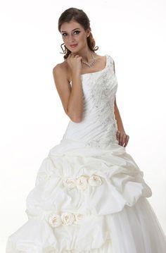 Cute bridal gown
