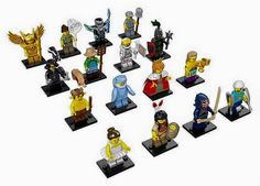 Yesterday we had a first look at the Series 15 LEGO Collectible Minifigures (71011) but now we have clear official images of the packaging and box as well as the product image of all the minifigures included in this wave.