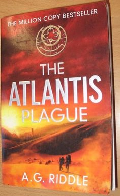 The Atlantis Plague By A. G. Riddle Paperback ree Shipping