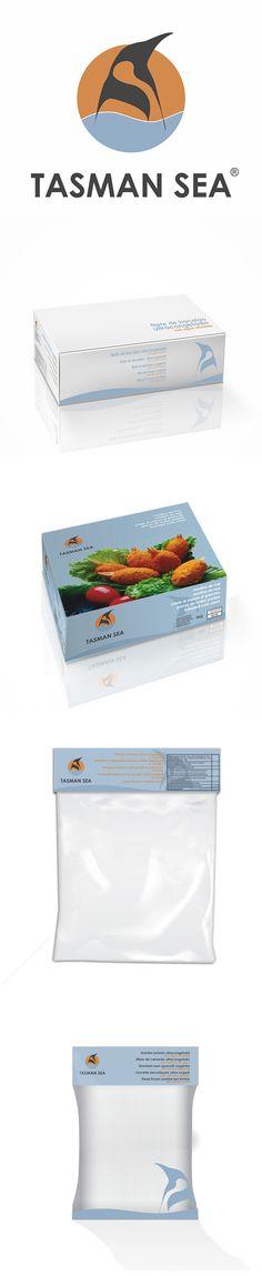 Diseño de packaging para Tasman Sea, también se realizó el rediseño del logotipo.