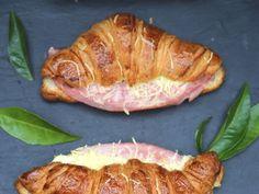 croissant, jambon, farine, lait, beurre, gruyère râpé, sel, poivre, muscade