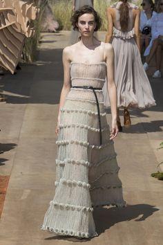 Christian Dior Fall 2017 Couture Fashion Show - Estella Brons
