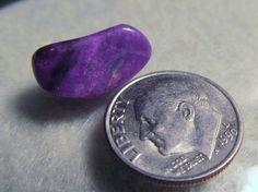 6 CT Sugilite Purple tumbled Wessels Mine, Africa  Free US Ship