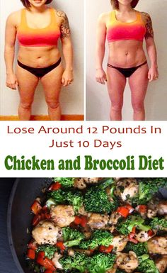 Chicken and Broccoli Diet – Lose 5 kg. In A Week