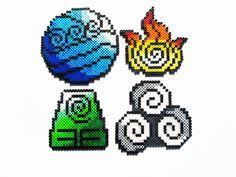 avatar perler beads - Google Search