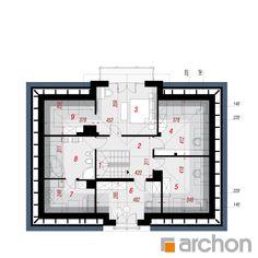 Projekt domu Dom w kalateach 6 (T) - ARCHON+ Floor Plans, Home, House, Ad Home, Homes, Haus