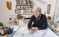 Interview with Judith Kerr (Tiger Who Came To Tea, Mog etc).  Drawing from life: the author and illustrator Judith Kerr at home in her studio