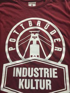 #IndustrieKultur2015 #100%BIO Baumwolle www.pottbrüder.de