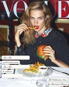 Natalia Vodianova by Mert Alas and Mac Piggot for Vogue Italia December 2017